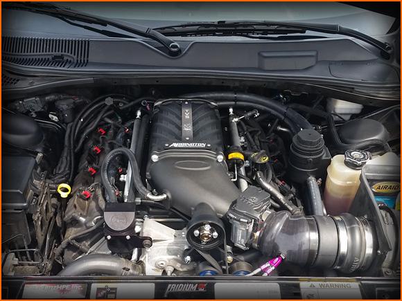 Jacob's 2013 Challenger 5.7L HEMI R/T Sporting the Arrington Performance 8lb Supercharger Package!