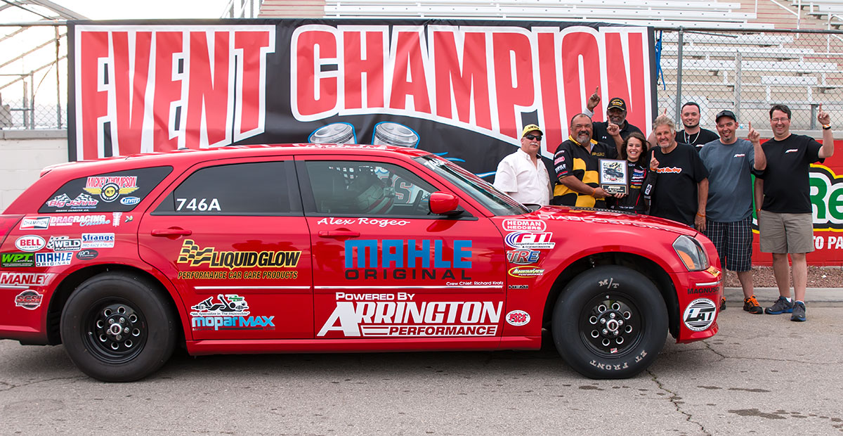 Rogeo Arrington-sponsored win with 426
