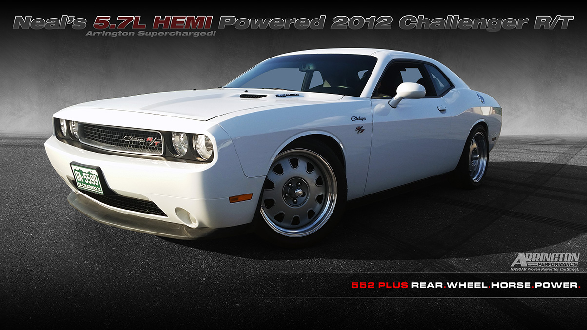 neal 39 s arrington supercharged hemi 2010 challenger r. Black Bedroom Furniture Sets. Home Design Ideas