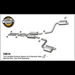 Challenger RT HEMI 5.7L Magnaflow Stainless Cat-Back STREET Exhaust 16514