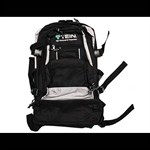 Black Tein Suspension Backpack