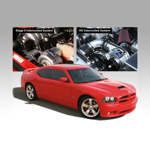 Centrifugal Supercharger Specs: HO Intercooled Tuner Kit For Dodge Charger SRT-8 By