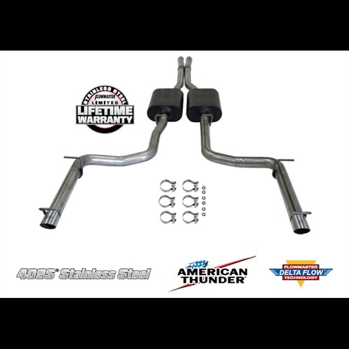 Flowmaster Dodge Charger RT 57L    HEMI    Stainless Steel 2011 AT Exhaust 817508  shopHEMI