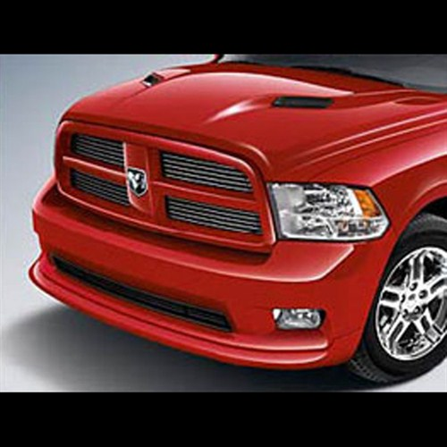 oem dodge ram hood with integrated hood scoops. Black Bedroom Furniture Sets. Home Design Ideas