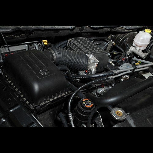 on Dodge Ram 1500 Supercharger