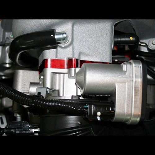 on Dodge Ram 1500 Throttle Body Spacer