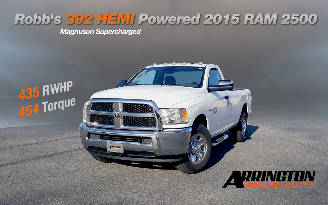 2015 RAM 2500 - supercharged
