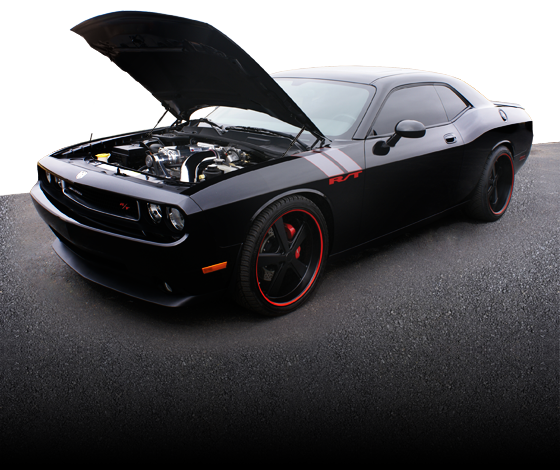 HEMI True Street - Sam H. Black RT Challenger