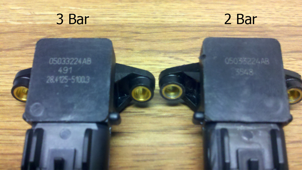 How To Tell The Difference Between 2 Bar And Three Bar Map