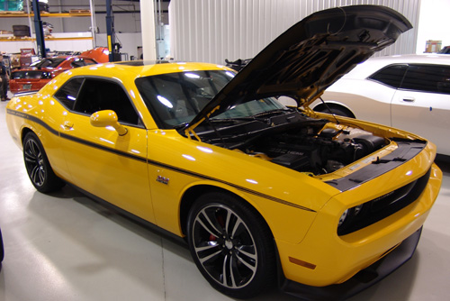 2012 Challenger 392 Twin Turbo YellowJacket