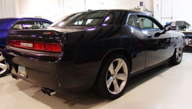 Supercharged 2009 Challenger 449 SRT engine with Whipple Supercharger