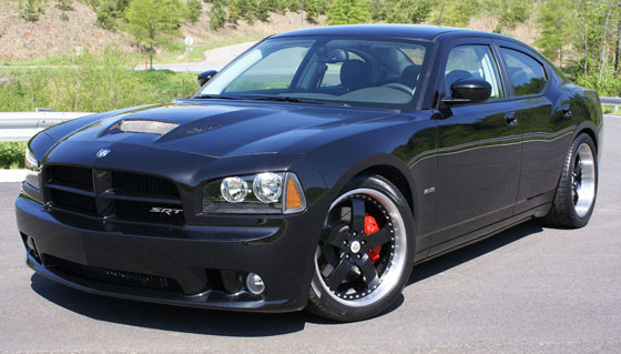 Dodge Charger SRT8 becomes a 426 HEMI Autobahn Burner