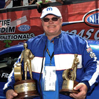 Charlie Fitzsimmons NHRA Win