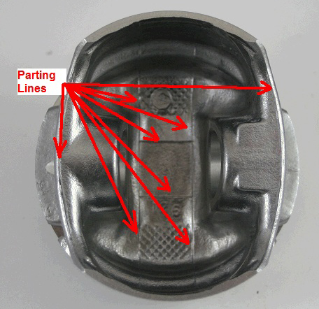 Mahle Cast Piston