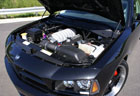 426 HEMI powered SRT8 Dodge Charger Engine Closeup