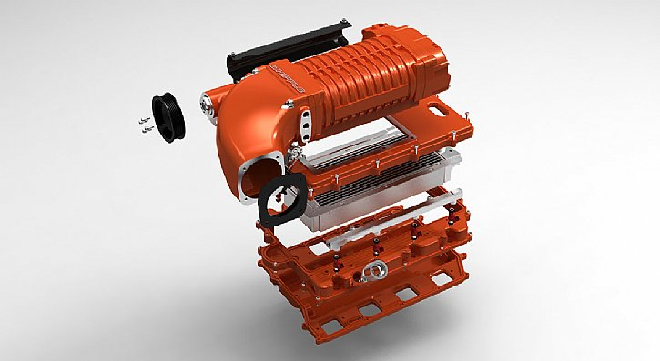 Whipple HEMI Supercharger