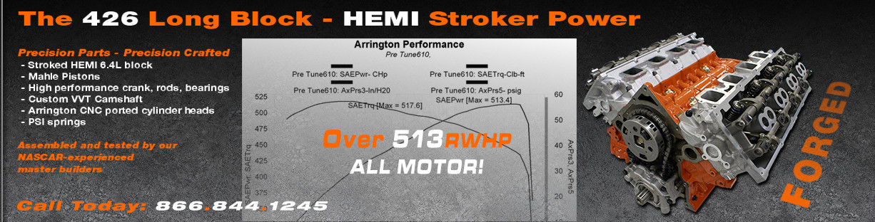 The Arrington Performance VVT HEMI 426
