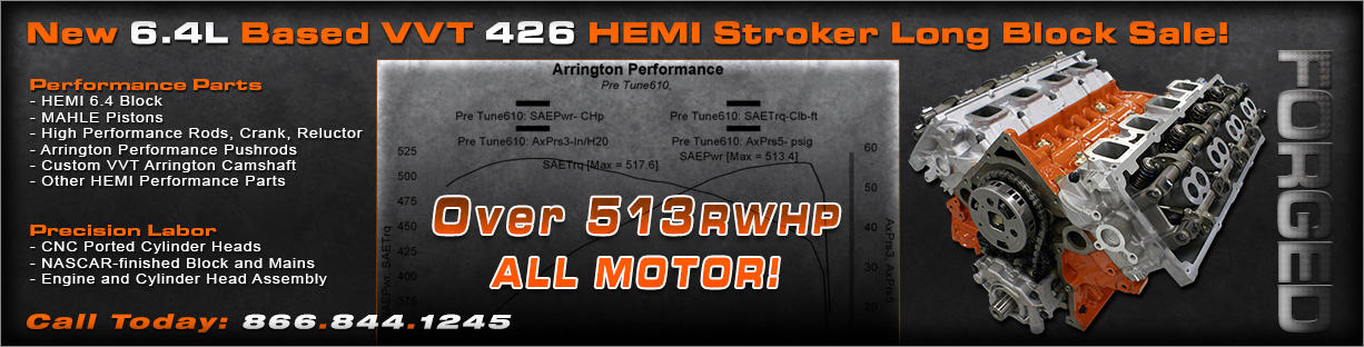 The New Arrington Performance VVT HEMI 426